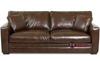 Chandler Leather Sofa by Savvy