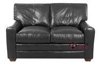 Halifax Leather Loveseat by Savvy
