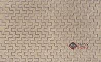 Don't Tread Grey Hand-Tufted Rug by Loom Lazar
