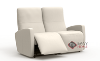 Sierra II My Comfort Dual Reclining Leather Loveseat by Palliser--Power Upgrade Available