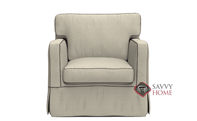 Jersey Chair with Slipcover by Savvy
