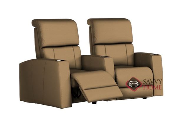 Hifi Leather Loveseat With Console By Palliser Is Fully Customizable By You