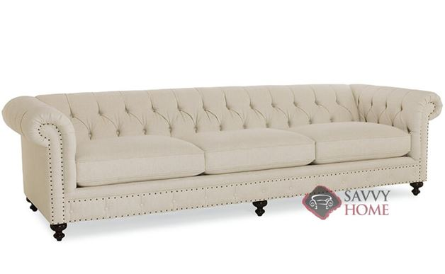 London Club Sofa with Down-Blend Cushions by Bernhardt in 1741-002