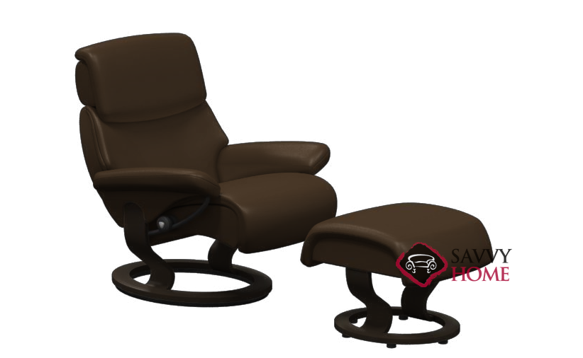 dream leather chair by stressless is fully customizable by you. Black Bedroom Furniture Sets. Home Design Ideas