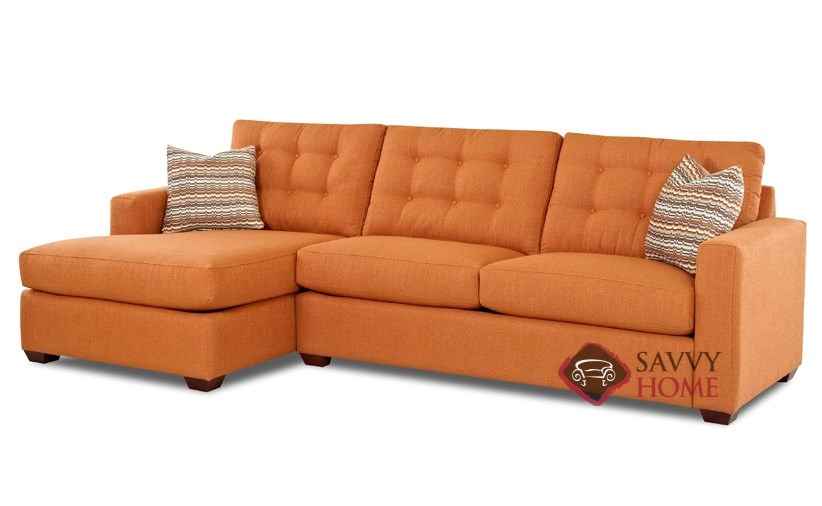 Liverpool Fabric Chaise Sectional By Savvy Is Fully