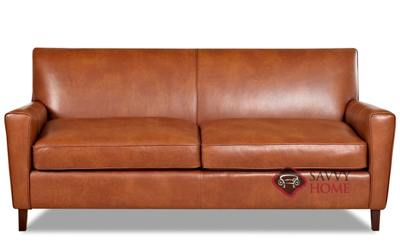Glasgow Leather Sofa By Savvy Is Fully Customizable By You