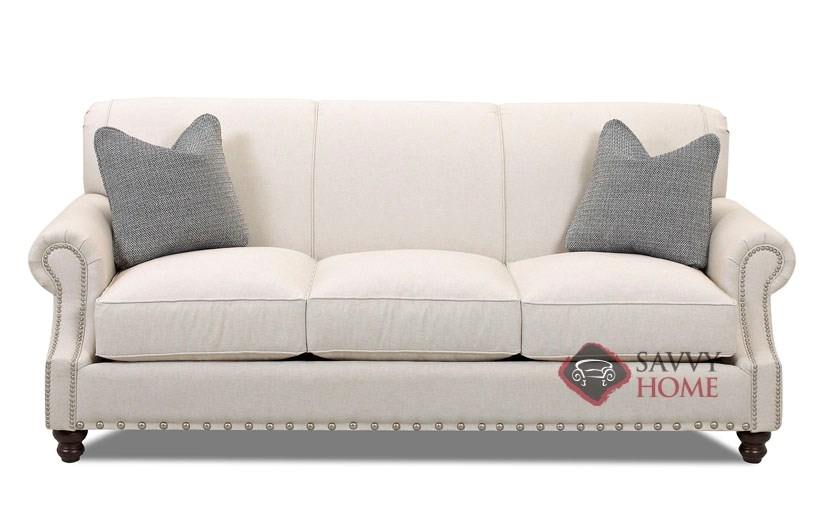 Fairbanks fabric sofa by savvy is fully customizable by for Furniture fairbanks