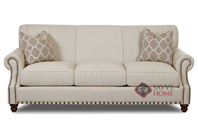 Fairbanks Fabric Sofa By Savvy Is Fully Customizable By You