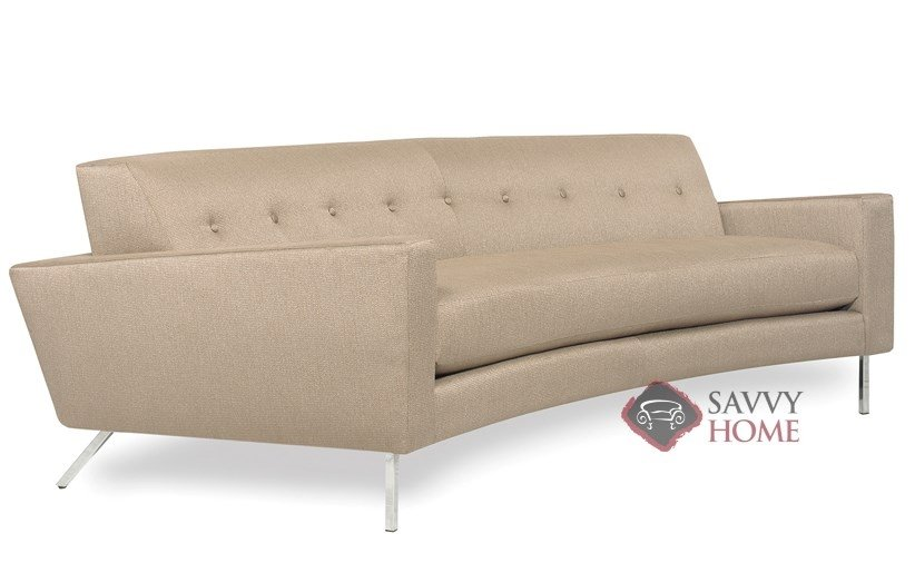 Flamingo Fabric Sofa By Lazar Industries Is Fully