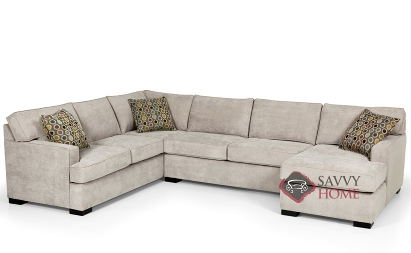 146 Fabric True Sectional By Stanton Is Fully Customizable