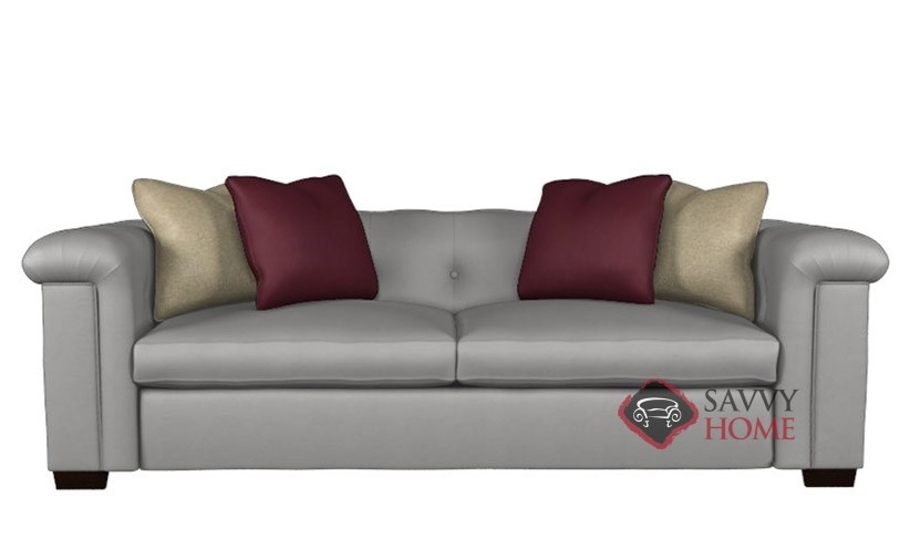 Townhouse By Bernhardt Interiors Leather Sofa By Bernhardt Is Fully Customizable By You