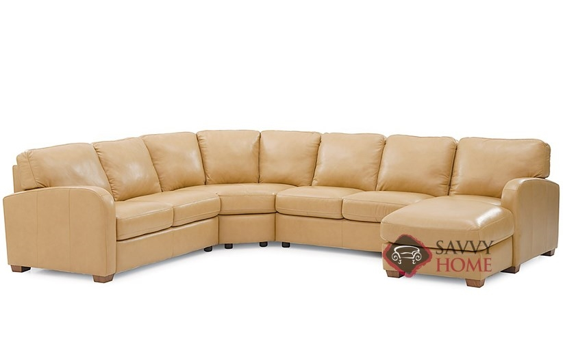 Westside Leather True Sectional By Palliser Is Fully