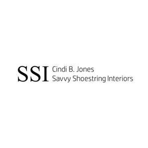 Cindi B. Jones Savvy Shoestring Interiors Logo
