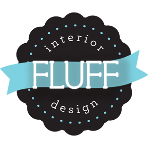 Fluff Interior Design Logo