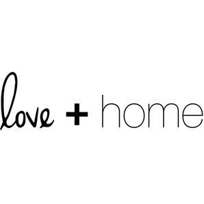 Love + Home Logo