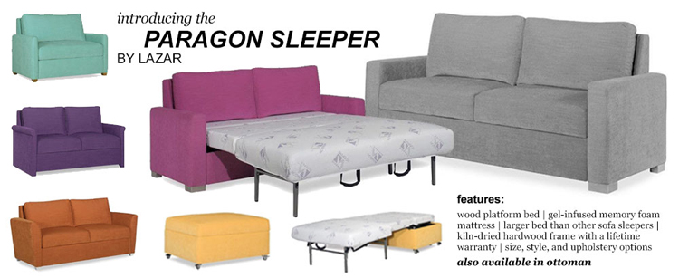 The Paragon Sleep System from Lazar