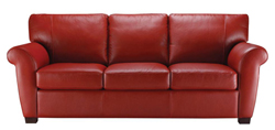 A121 Leather Sofa by Natuzzi Editions