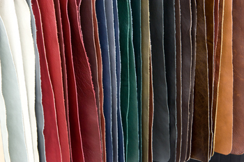 Klaussner Top-Grain Leather Hide Selection