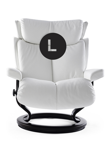 Large Frame Magic Stressless Recliner