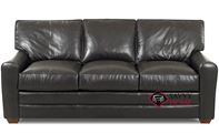 Halifax Leather Sofa by Savvy