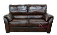 Tesino Reclining Leather Loveseat by Natuzzi Editions--Power Option Available (B693-030)