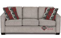 The 702 Queen Sleeper Sofa by Stanton in Jitterbug Linen