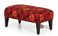 The 900 Small High Leg Rectangle Ottoman by Stanton