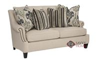 Martin Loveseat with Down-Blend Cushions by Ber...