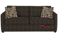 San Francisco Queen Sofa Bed by Savvy in Snapshot Ebony