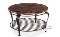 Clark Round Cocktail Table by Bernhardt