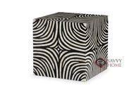 Zebra Cube by Bernhardt Interiors