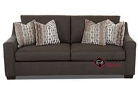 Alexandria Queen Sofa Bed by Savvy--Nailheads A...
