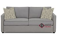 Portland Queen Sofa Bed by Savvy in Brookside Grey