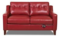 Austin Leather Loveseat by Savvy