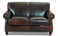 Fairbanks Leather Loveseat by Savvy