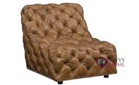 Rigby Leather Chair with Down-Blend Cushion by ...