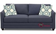 Valencia Queen Sleeper Sofa by Savvy in Fandango Indigo