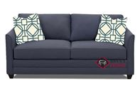 Valencia Full Sleeper Sofa by Savvy in Fandango Indigo
