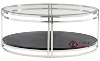 Caden Round Cocktail Table by Bernhardt