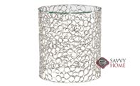 Candide Round Chairside Table by Bernhardt Interiors