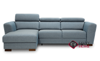 Caliber Chaise Sectional Full XL Sofa Bed by Luonto