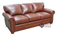 Georgia Leather Sofa by Omnia