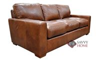 City Craft Leather Sofa by Omnia