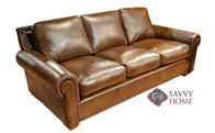 Monterrey Leather Sofa by Omnia