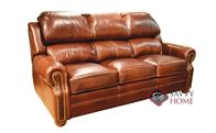 San Juan Leather Sofa by Omnia