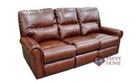 Robertson Leather Sofa by Omnia