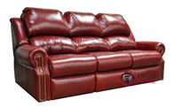 San Clemente Full Leather Sofa Bed by Omnia
