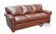 Dream Maker 104 Queen Leather Sofa bed by Omnia