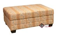 Dreamsations 107 Ottoman Leather Cot Sofa bed by Omnia