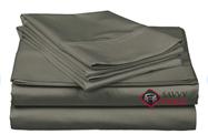 Luxe Fog American Leather Comfort Sleeper Bedding